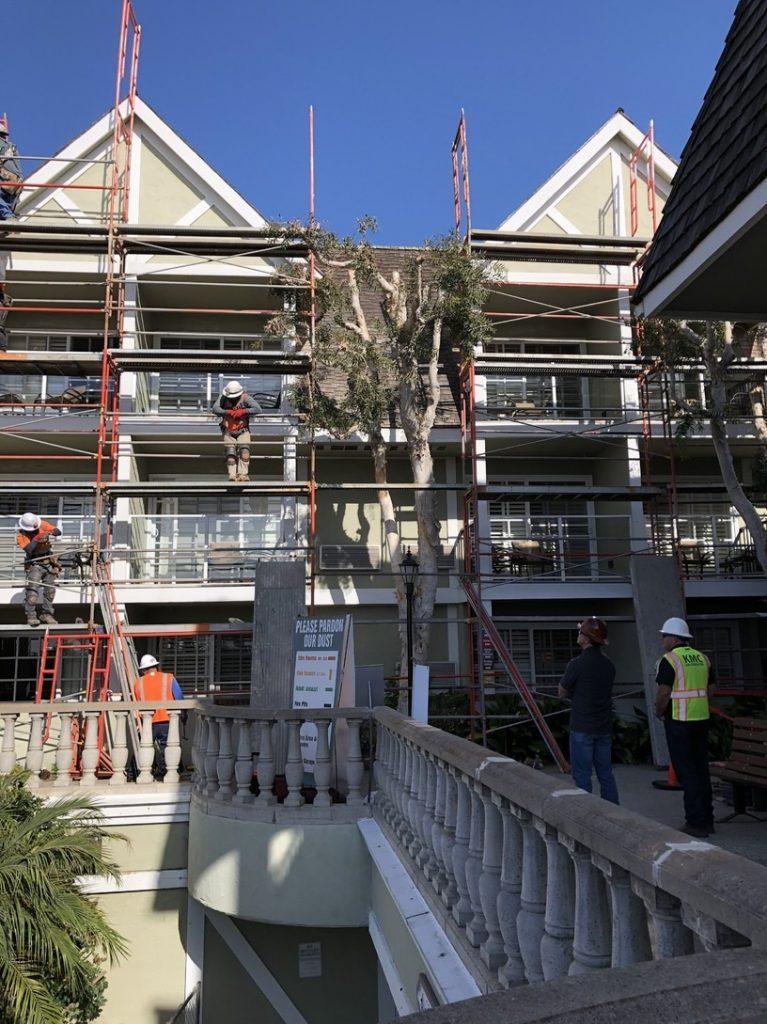 Hotel Balcony Repair